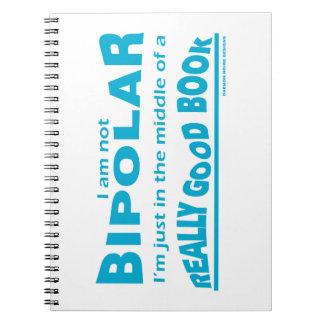 Books Make Me Bipolar Notebooks