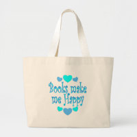 Books Make Me Happy bag