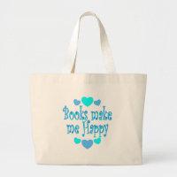 Books Make Me Happy bag