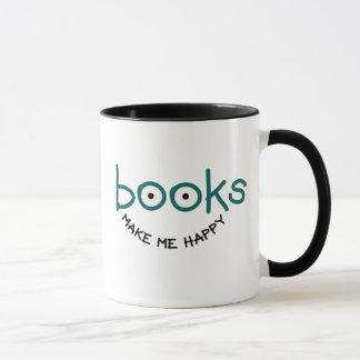Books Make Me Happy Mug