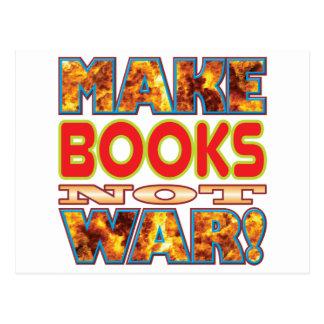 Books Make X Postcard