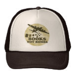 Books not Bombs Hat