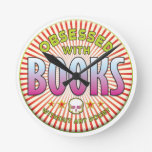 Books Obsessed R Wallclock