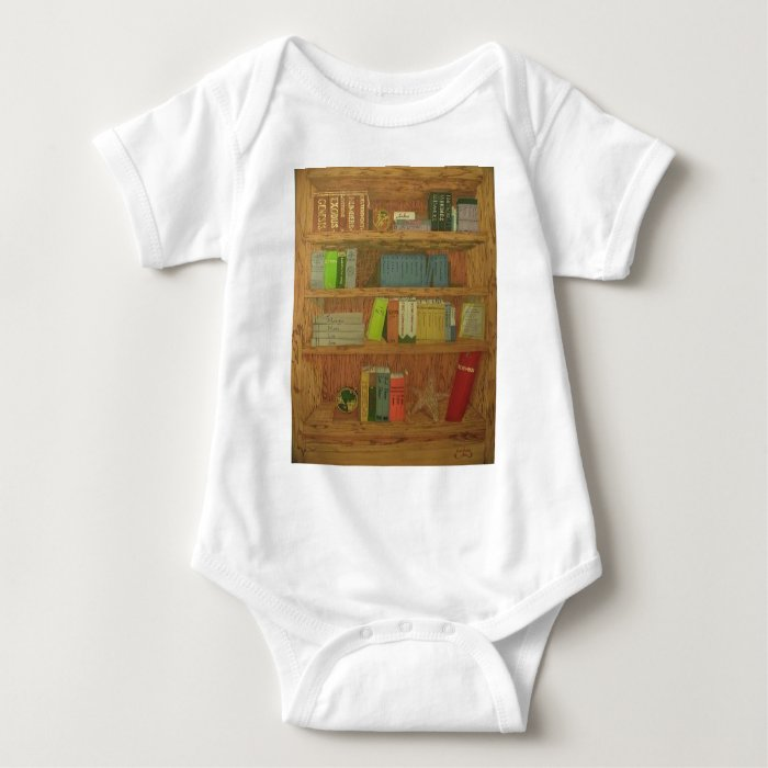 Books of the Bible Baby Bodysuit