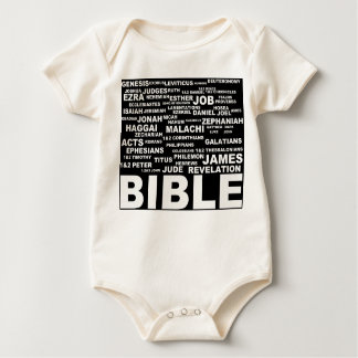 books of the bible for kids rompers