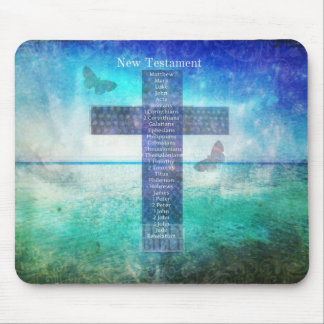 Books of the Bible from the New Testament Mouse Pads