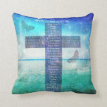 Books of the Bible from the New Testament Throw Pillow