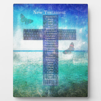 Books of the Bible from the New Testament Plaque