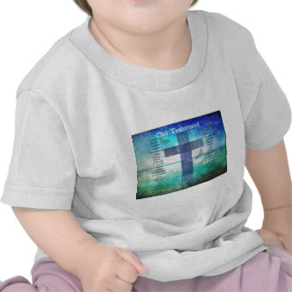 Books of the Bible Listed OLD Testament Tshirts