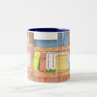 Books of the Bible Two-Tone Coffee Mug