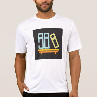 Books On A Shelf Mens Active Tee
