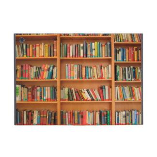 Books on Bookshelf Background Cover For iPad Mini