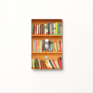 Books on Light Switch Cover