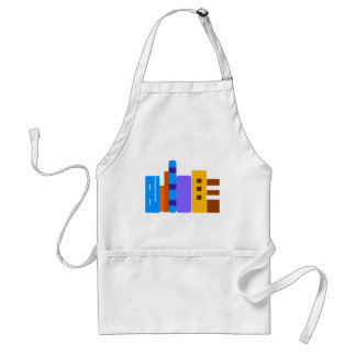 Books on Shelf Adult Apron