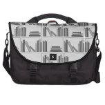 Books on Shelf. Monochrome. Commuter Bags