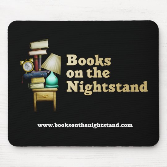 Books on the Nightstand Mousepad