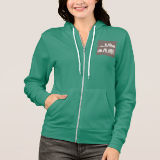 Books on the shelf for reading lover or wise guy hoodie