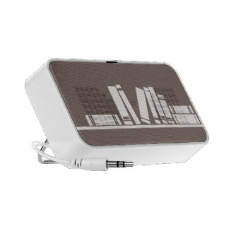 Books on the shelf for reading lover or wise guy iPhone speaker