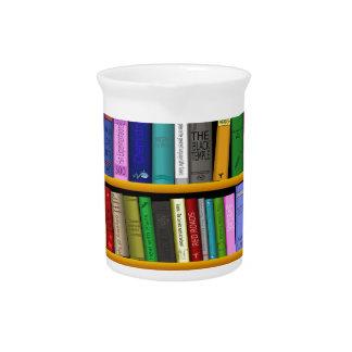 books drink pitcher
