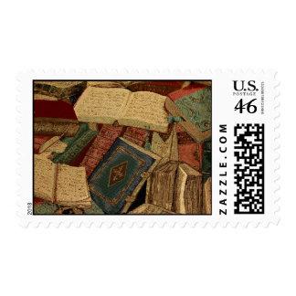 Books Postage Stamp