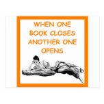 BOOKS POSTCARD