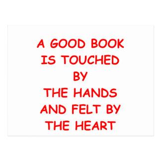 BOOKS POST CARD