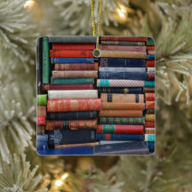 writers and bibliophiles Customizable ornament for readers authors