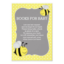 Books Request Mommy to Bee Baby Shower Card