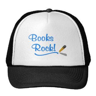 Books Rock Trucker Hat