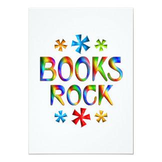 BOOKS ROCK PERSONALIZED INVITE