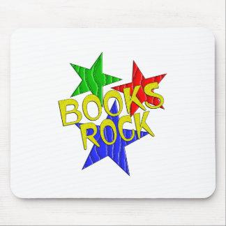 Books Rock Mouse Pad