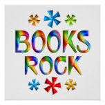 BOOKS ROCK - Starting at $11.80 Print