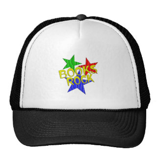 Books Rock Trucker Hat