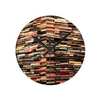 Books Round Clock