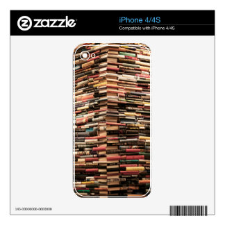 Books Skins For iPhone 4S