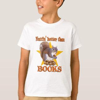 Books Squirrel T-Shirt