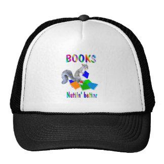 Books Squirrel Trucker Hat