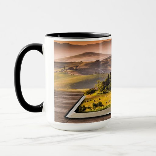 Books Take You to Distant Lands 15 oz Combo Mug