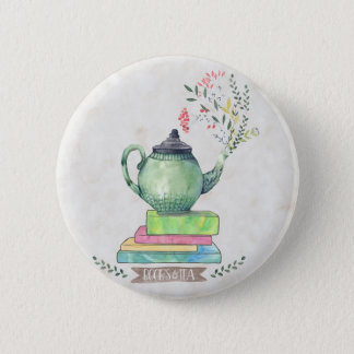 Books & Tea button