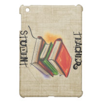 Books Teacher/Student add name iPad Case