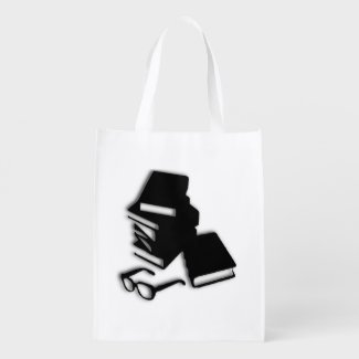 Books Teachers Shopping Bag Grocery Bag