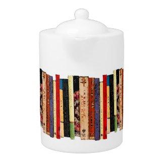 Books Teapot