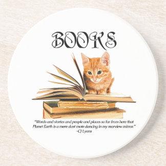 Books Transport Us... Coaster