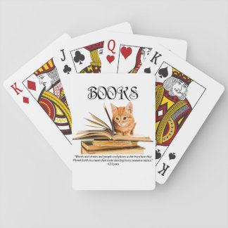 Books Transport Us... Playing Cards