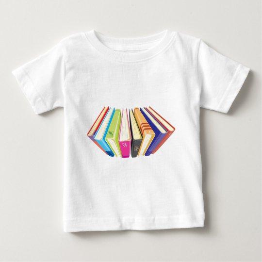 books upper view baby T-Shirt