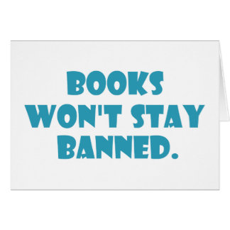 Books Won't Stay Banned Card