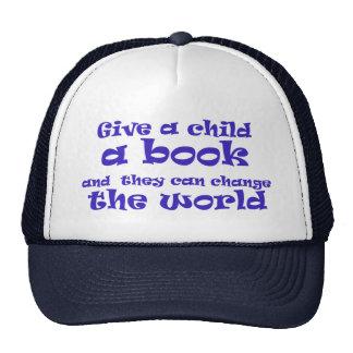 Books = World Change Trucker Hat