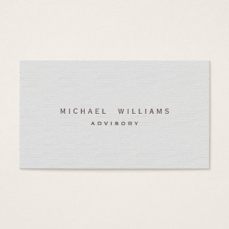 Bookseller - Elegant white simple professional Business Card