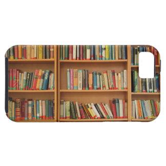 Bookshelf background iPhone 5 case