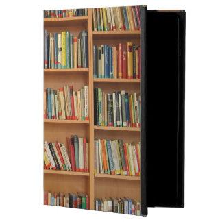 Bookshelf background iPad air cases